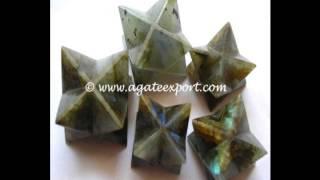 Merkaba Star, Mercaba Star, Wholesale Merkaba Star, Gemstone Merkaba - Agate Export