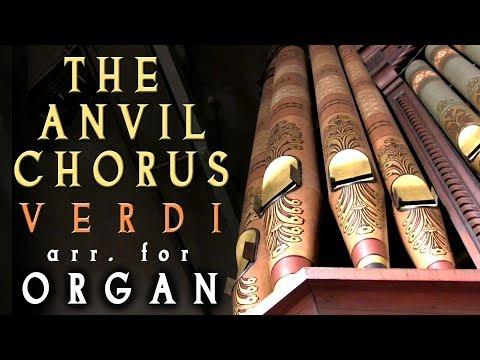 THE ANVIL CHORUS - VERDI - ORGANIST JONATHAN SCOTT - VICTORIA HALL ORGAN PROM