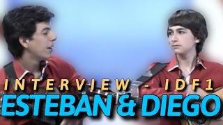 [ESTEBAN & DIEGO] INTERVIEW SUR IDF1