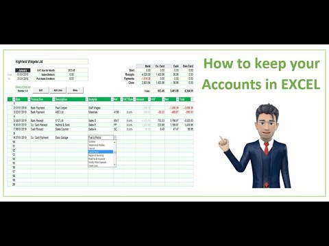 How to keep your accounts in Excel [A guide for small businesses]