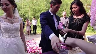 Видеосъемка свадьбы, съемка с воздуха