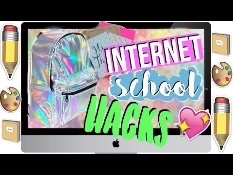 INTERNET SCHOOL LIFE HACKS (bessere Noten, Smartphone Hacks..) ♥︎ Jackie Alice