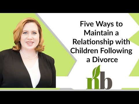 Five Ways to Maintain a Relationship with Children Following a Divorce | Alabama Family Law Attorney