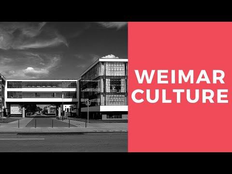 IGCSE History - Weimar Culture