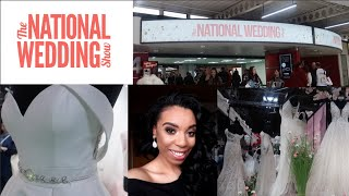 The National Wedding Show Vlog    NEC BIRMINGHAM