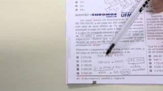 CHROMOS GABARITO ENEM 2015 - Matheus Brito - Matemática - Questão 152 - Prova Amarela