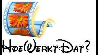 UITLEG | Hoe Werkt Movie Maker?