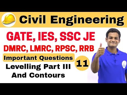 9:00 AM | Civil by Nikhil Sir | Day #11 | Levelling Part III and Contours