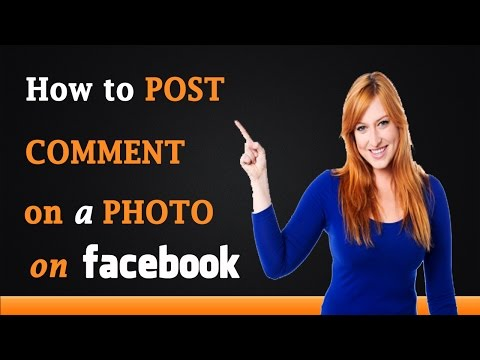 How to Comment on Facebook Photos
