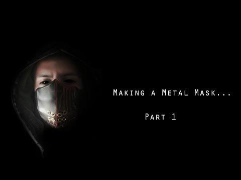 Making a Metal Mask |Part 1