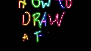 How To Draw A Flower For Starters For 2-4 Year olds!