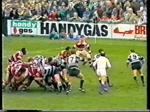 Cardiff RFC v Pontypool RFC 1988 Schweppes Cup