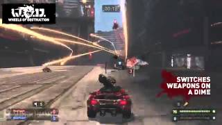 Wheels of Destruction World Tour Gameplay Trailer [HD]1101