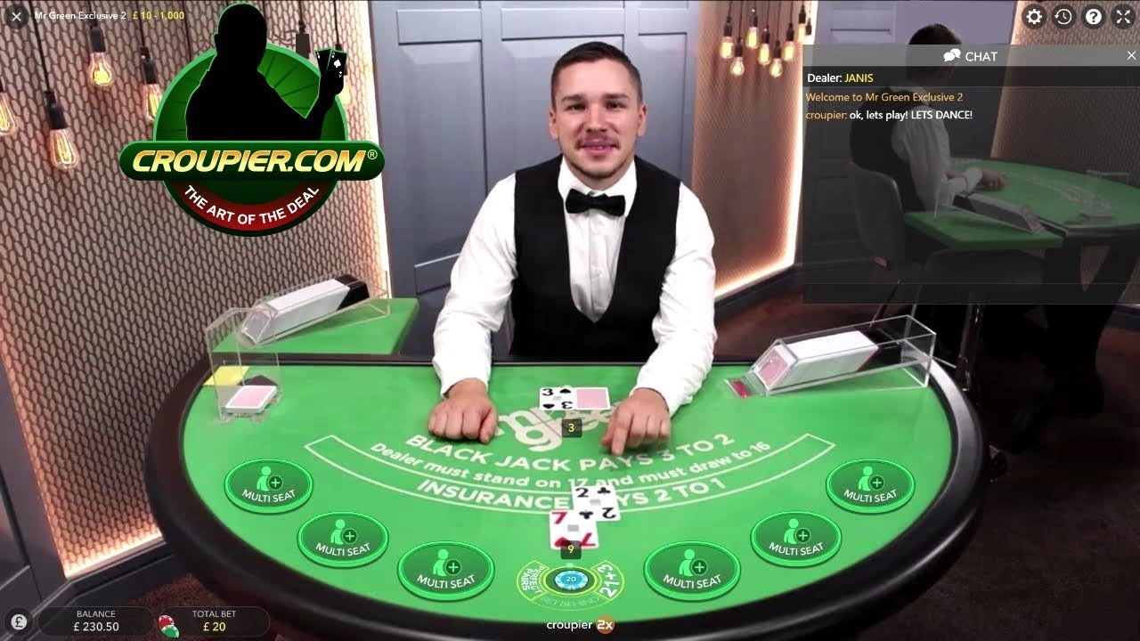 Online Blackjack Dealer Laughing at My Bad Luck! Mr Green