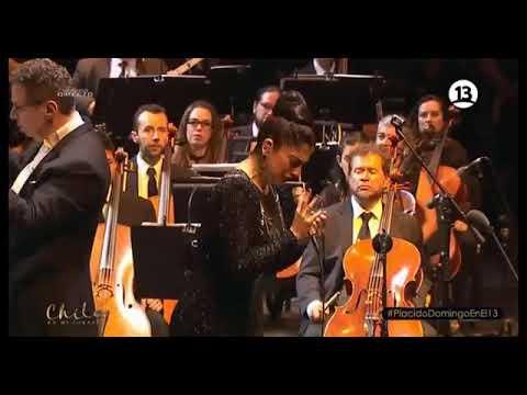 Mon Laferte - Tormento (junto a Orquesta Filarmónica de Bogotá) @ Plácido Domingo en Chile