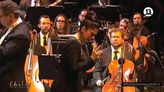Video Mon Laferte - Tormento (junto a Orquesta Filarmónica de Bogotá) @ Plácido Domingo en Chile download MP3, 3GP, MP4, WEBM, AVI, FLV Agustus 2018