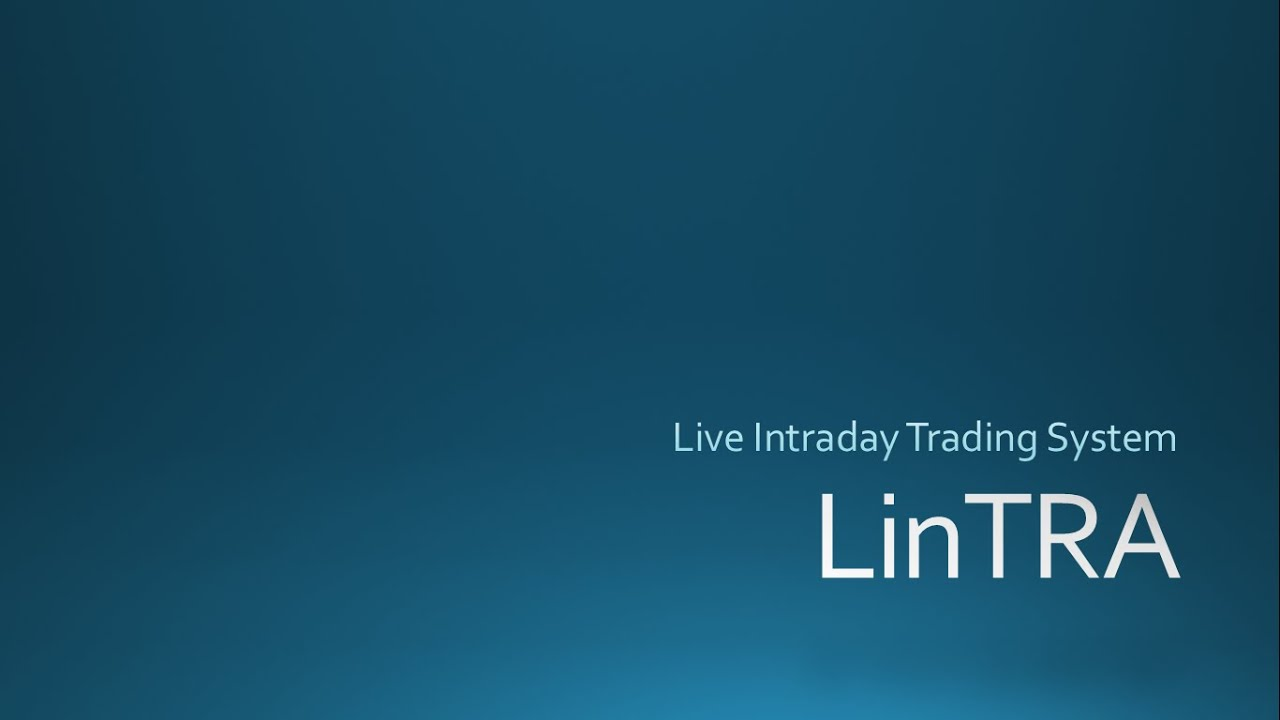 Linear Regression Based Intraday Trading System Afl - LinTRA