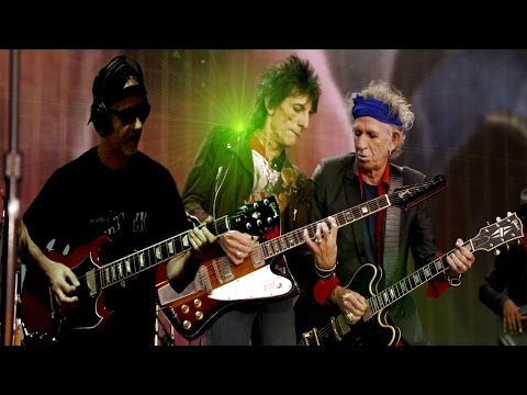 Miss You Live Rolling Stones & RollingBilbao Guitar cover 2016 HD