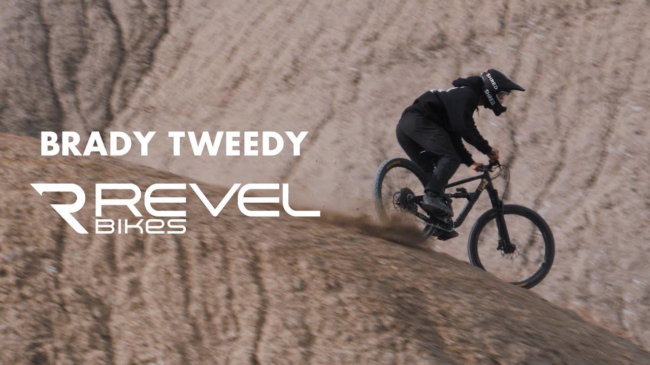 Revel Bikes New Rider Brady Tweedy