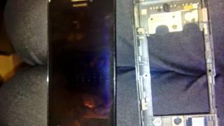 Huawei U8860 Honor.разбор.попала вода.замыкала кнопка блокировки в разьеме.(, 2014-08-21T12:10:08.000Z)