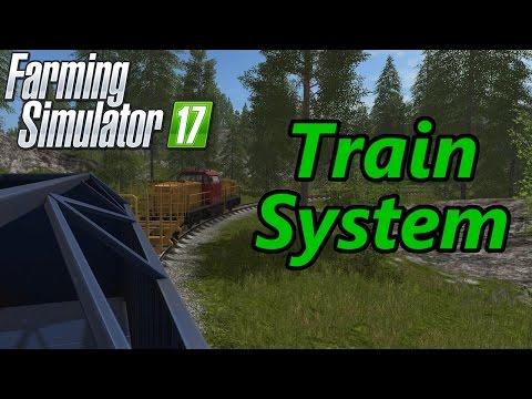 Farming Simulator 17 Tutorial | Train System