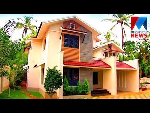 Contemporary style budget house veedu old episode for Modern house ep 9