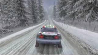 [Old Video] Colin McRae Rally 2005 crashes [2008.01.07]