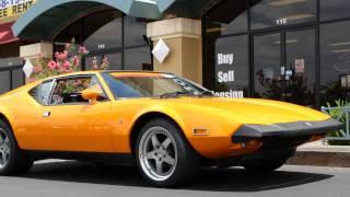1973 DeTomaso Pantera L-Lusso Coupe