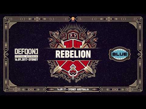 The Colours of Defqon.1 Australia | BLUE Raw mix by Rebelion