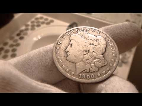 1900 O Morgan Silver Dollar Coin Review