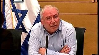 ערוץ הכנסת - דוד אמסלם פוצץ דיון עם תחילתו בשל היעדרות נציגי משרדי האוצר והפנים, 18.7.16