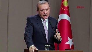 """Erdoğan: """"Sınırımızda terör koridoru oluşmasına izin vermeyeceğiz"""""""