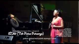 dZikir Tak Putus Putusnya with lyrics by Dwiki Dharmawan and Dira J Sugandi
