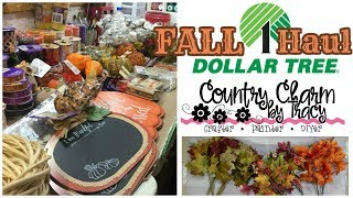 Dollar Tree Fall Haul | Rustic Farmhouse Country Decor Ideas | Fall Haul Series August 2018