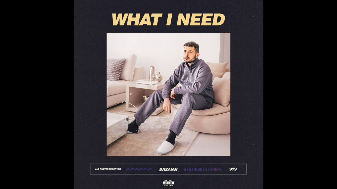 Bazanji - What I Need (Official Audio)