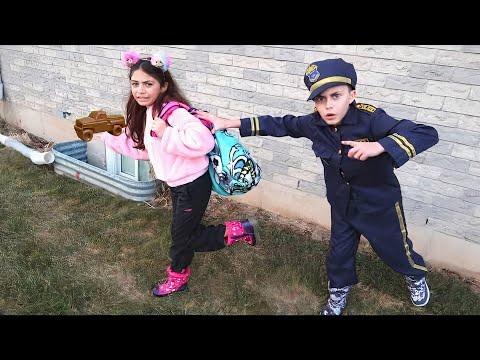 Download Heidi y Zidane en una advertencia para los niños de que robar es malo