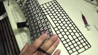 Залили клавиатуру водой возможно ли отремонтировать? Вскрытие...(, 2015-04-29T16:22:39.000Z)