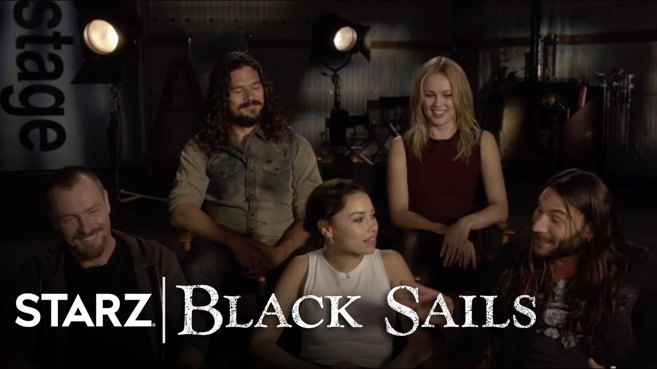 Black Sails | The Cast's Favorite Moments from Season 2 ... |Starz Black Sails Cast