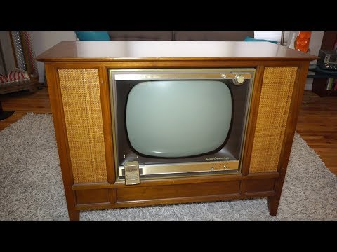 1959 Zenith Space Command 400 TV (updated 2019)