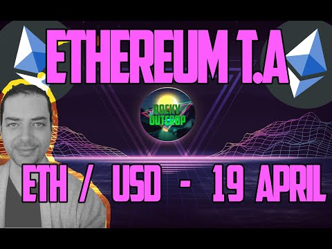 Ethereum (ETH/USD) - Crucial $177 & $166 & $185  - T.A -  April 19  Technical Analysis & Predictions