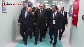 Cumhurbaşkanı Erdoğan, F-35 savaş uçakları, yerli ve milli mühimmatların sergilendiği alanı gezdi