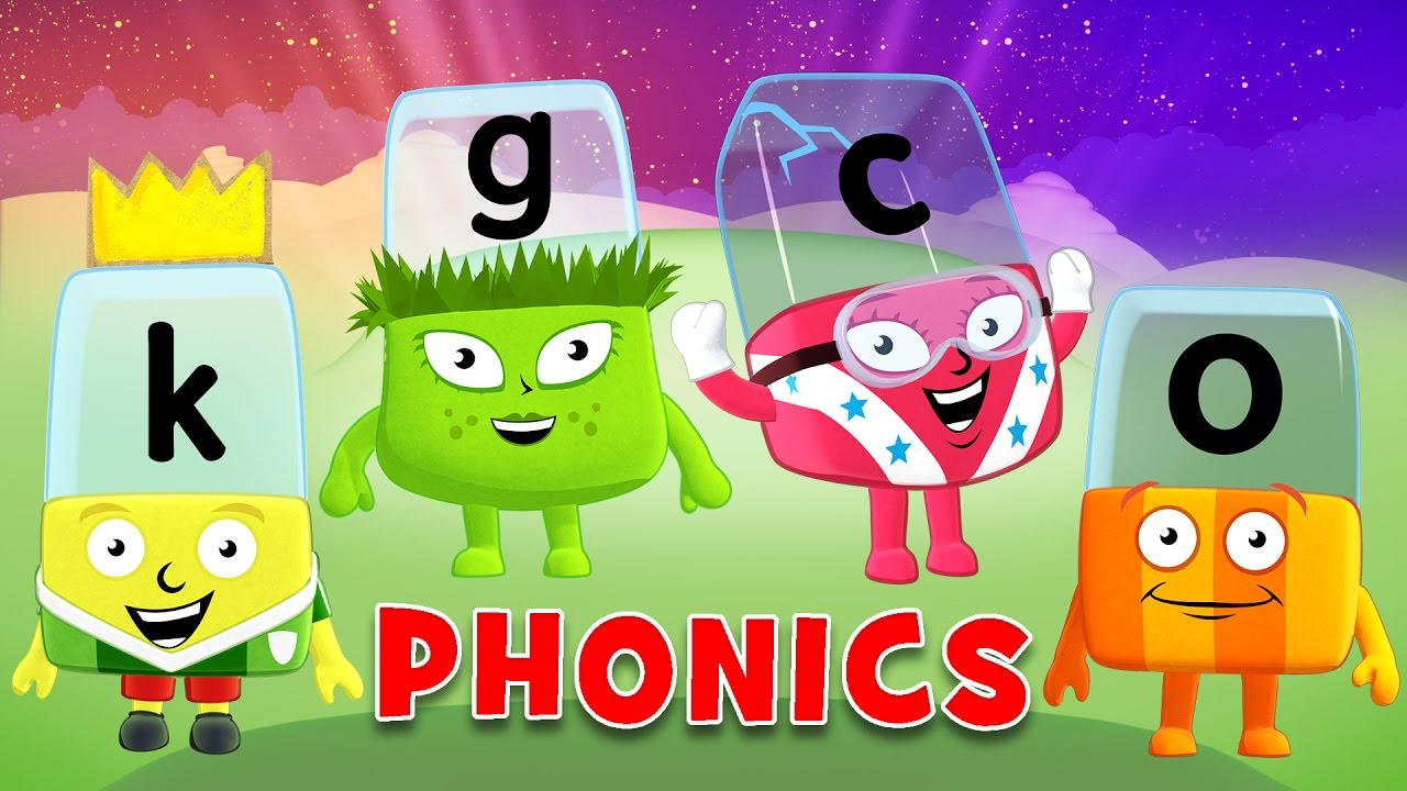Learn Phonics For Kids - Boxfirepress