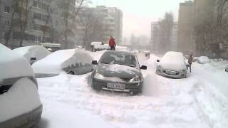 Оренбург. 12 часов дня 3 января 2016 г. ул. Чкалова(, 2016-01-03T19:06:04.000Z)