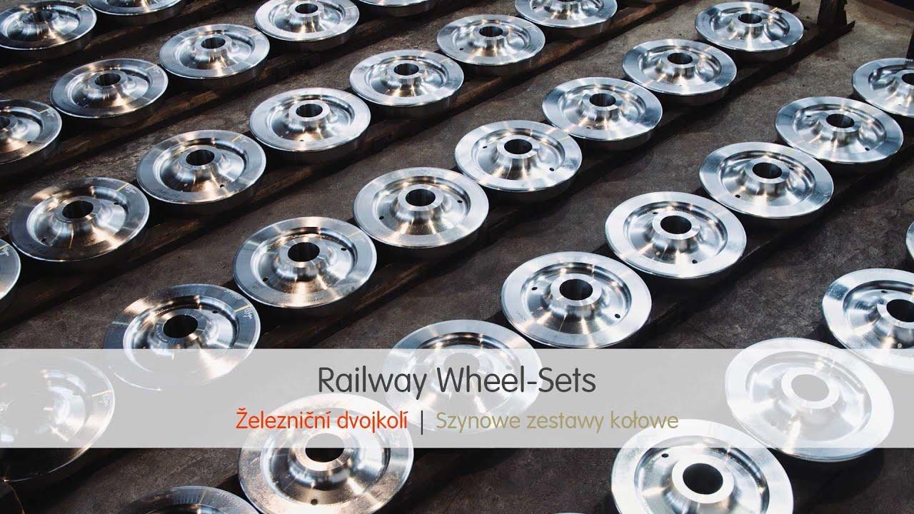 Railway Wheel-Sets | ArcelorMittal Engineering Products Ostrava