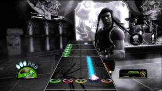 Guitar Hero Metallica - One HD sightread