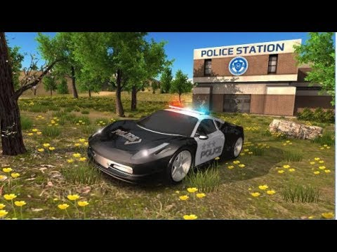 Police Car Driving Offroad Android...