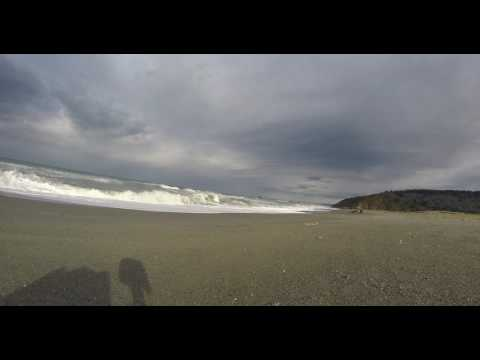 Ocean Waves at Freshwater Lagoon Beach