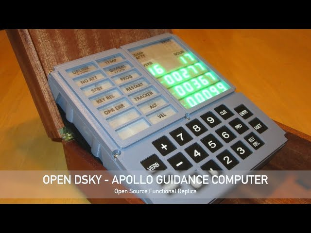 Open Apollo Guidance Computer DSKY: 13 Steps (with Pictures)