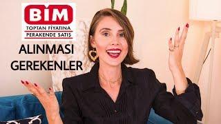 BİM'DEN ALINMASI GEREKENLER | Kübra Sefa