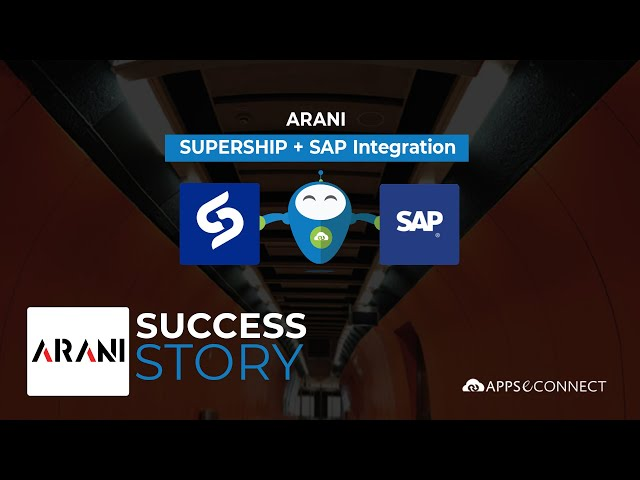 Arani Testimonial | SAP Business One + SuperShip Integration | APPSeCONNECT